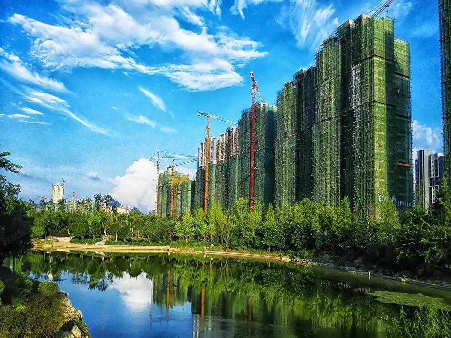 桂林市临桂新区新城国奥小区园林绿化工程(三期)项目实景