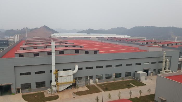 滨州江森自控工厂项目